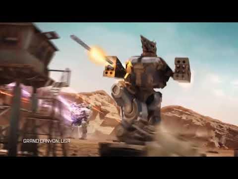 WAR ROBOTS трейлер 2016 под песню герой