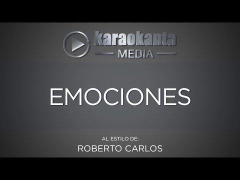 Karaokanta - Roberto Carlos - Emociones