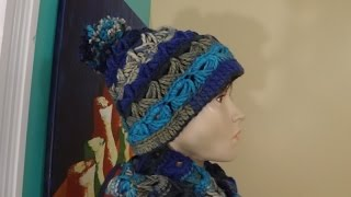 Crochet Broomstick Lace Hat Or Beanie