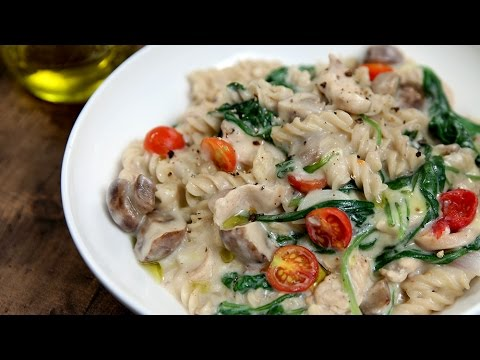 One Pot Chicken Pasta Recipe | Pasta Recipes | Italian Recipes | Quick Pasta Recipe by Varun Inamdar