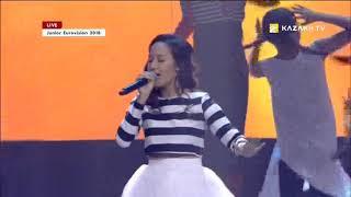 Зере Əмірбекова - «Қос қанат» (Т.Решетняк, К.Даирова, З.Әмірбекова): Junior Eurovision 2018