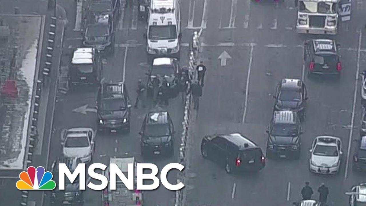 Suspect Of Manhattan Bombing Is In Custody   Velshi & Ruhle   MSNBC thumbnail