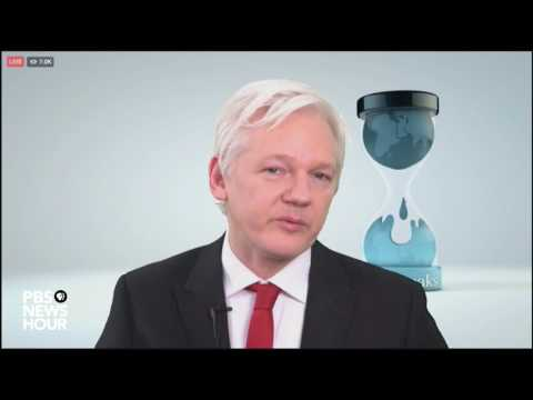 , title : 'Julian Assange: Wikileaks will give details of CIA hacking tools to tech companies'