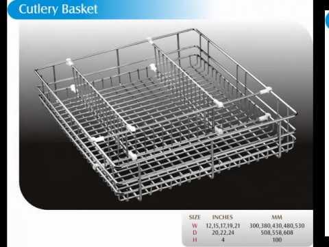 Modular Kitchen Basket types