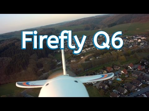 neue leichte Firefly Q6  4 K   Actioncam // RC-Aircraft FPV // Multiplex // Onbord