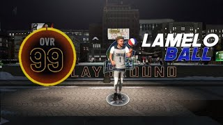99 OVERALL SPEED BOOSTING LaMelo Ball BUILD IS A GLITCH ON NBA2K20!
