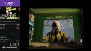 Grim Fandango Remastered Speedrun [PS4 World Record 1:29:01]