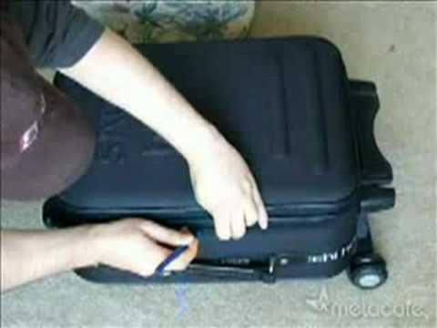 Como nos abren el equipaje en aeropuertos.