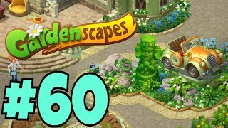 GARDENSCAPES NEW ACRES #60 Gameplay Story Playthrough | Area 10 New Castle Area Day 4