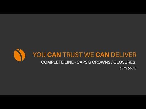 Video - LUG LID diameter 175 mm production line
