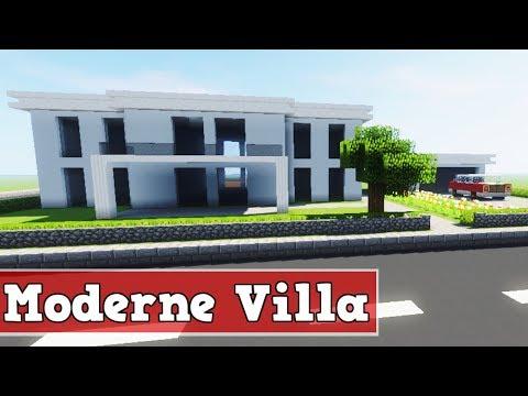Minecraft Modernes Haus Freitag Hochhaus Braunweiß Bauen - Minecraft haus bauen ps3