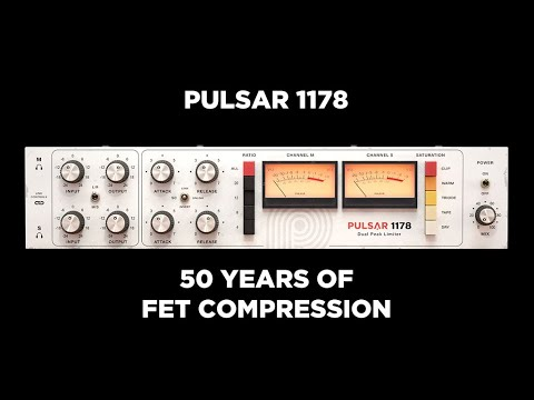 Pulsar 1178: FET compressor plug-in with modern features
