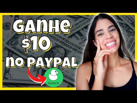 APLICATIVO PARA GANHAR DINHEIRO NO PAYPAL  - QUACK COMO GANHAR DINHEIRO [App Pagando 2021]