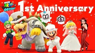 Super Mario Odyssey - 1st Anniversary Event (All 39 Pixel Toads & Luigis)