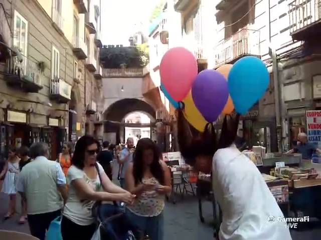 Claudia Fabris (Naples, Italy) Our Lady of Balloons (3/3)