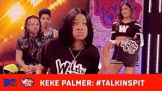 Chico Bean Shows Keke Palmer's Real Hair 😩 | Wild 'N Out | #TalkinSpit