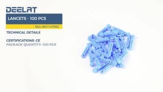 Lancets - 100 pcs