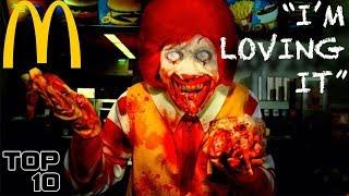 Top 10 Scary McDonald