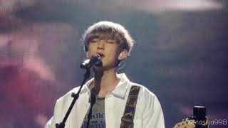 180915 EXO CHANYEOL [Special Stage FULL] Wind Of Change Cover @ KBS Music Bank In Berlin [HD]