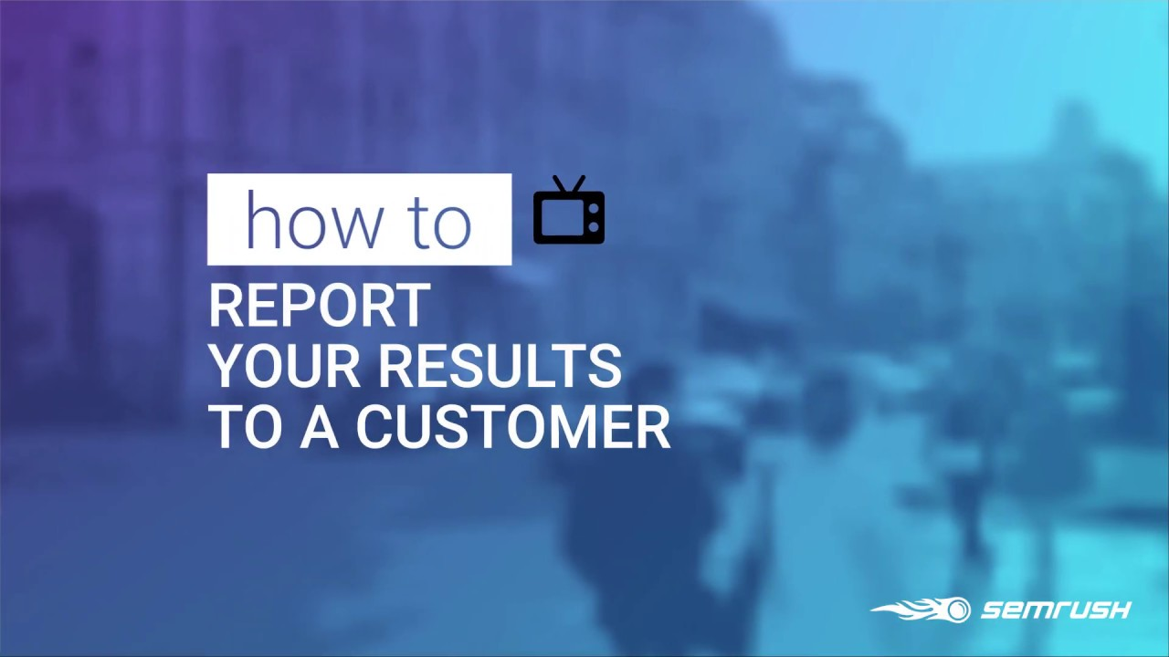 Easy Reporting with Semrush image 1