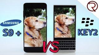 Blackberry KEY2 VS Samsung Galaxy S9+ CAMERA COMPARISON!