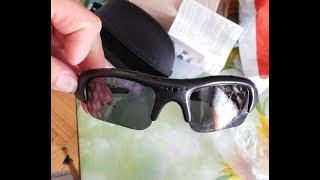 Спортивные очки с камерой!Тест видео на качество и звук!Китайские очки!