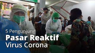 Rapid Test Massal di Pasar dan Swalayan di Sukoharjo, 5 Pengunjung Pasar Reaktif
