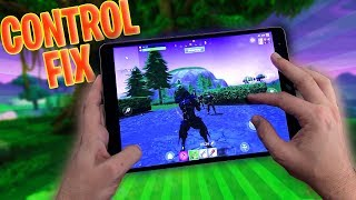 How to FIX FORTNITE MOBILE CONTROLS... @arjanbrussee
