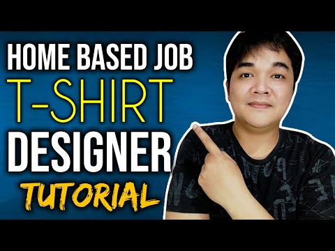 Tshirt Designing Merch by Amazon Legit Online Part Time Jobs At Home For Beginners Photoshop