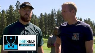 Travis Kelce on TEs he watches, Patrick Mahomes' best throw   Chris Simms Unbuttoned   NBC Sports