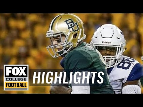 West Virginia vs Baylor   HIGHLIGHTS   FOX COLLEGE FOOTBALL