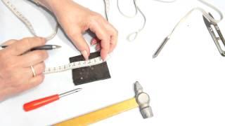Изготовление сантиметра для определения бокового шва от Светланы Поярковой