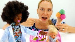 Новая няня у Штеффи - Мультики Барби для девочек
