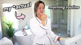 My Morning Routine.. *actually tho