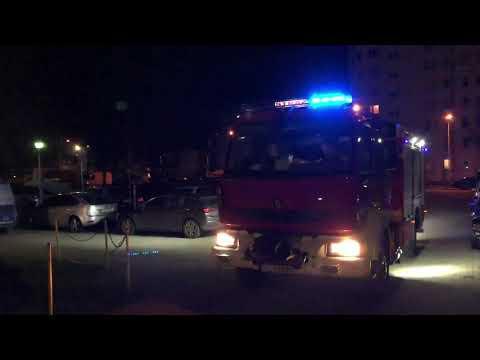 Wideo1: Tragedia na os. Armii Krajowej w Lesznie. Zginął 33-latek, który wypadł z dziewiątego piętra bloku