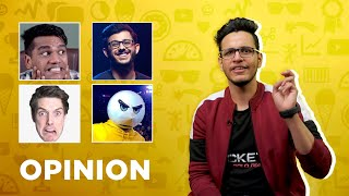 Triggered Insaan Opinion on @CarryMinati , @LazarBeam , @Angry Prash & @BeastBoyShub | 1Up Gaming