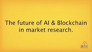 The Future of AI & Blockchain in Market Research | Ray Fischer, CEO of Aha! Online