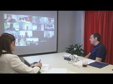 Τηλεδιάσκεψη Αλ. Τσίπρα με εργαζομένους και φορείς στον Τουρισμό