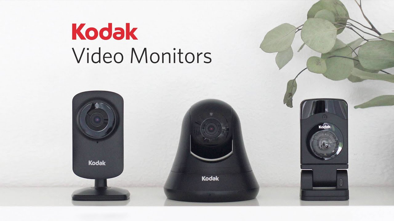 Kodak Video Monitor CFH-V20 - Wifi-kamera HD-videolla
