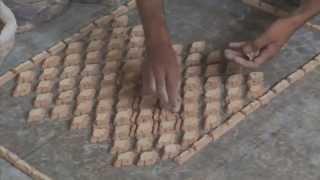 Из глины в мозайку. From clay to mosaic. Ручная работа