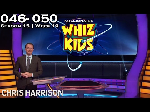 "Who Wants To Be A Millionaire? #10 | Season 15 | Episode 46-50 ""WHIZ KIDS WEEK"""