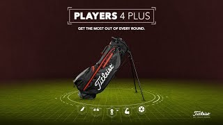 Woodland Camo Players 4 Plus Stand Bag-video