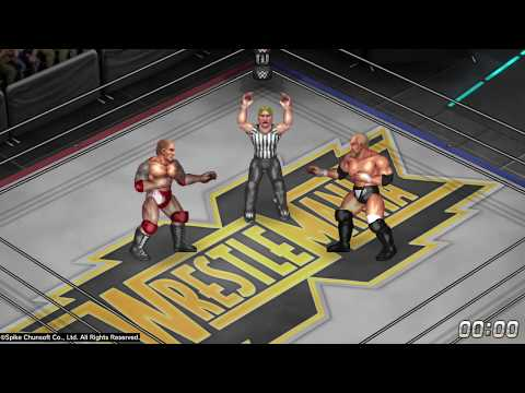 Batista vs Triple H Wrestlemania 35 - Fire Pro Wrestling World New Patch 1.14 PS4 PRO - HD