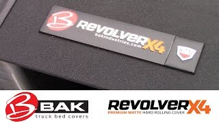 In the Garage™ with Total Truck Centers™: BAK Industries Revolver X4 Hard Rolling Tonneau Cover