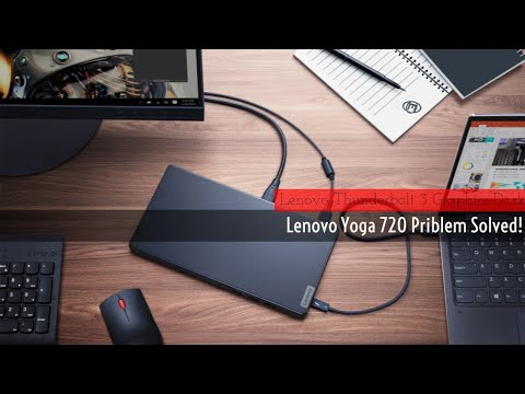 Lenovo Yoga 720 Lack of Ports Solved   Lenovo Docking Station Thunderbolt 3