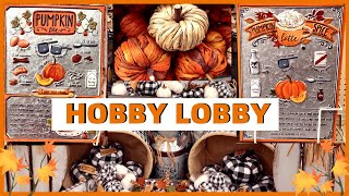NEW HOBBY LOBBY FALL DECOR & KITCHEN ITEMS