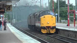 preview picture of video '37518 Thunders Through Wigan NW 31 July 2012'