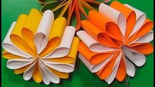 СУПЕР-БЫСТРО ПОДАРОК ДЛЯ МАМЫ БАБУШКИ КО ДНЮ МАТЕРИ, ДЕНЬ РОЖДЕНИЯ, 8 МАРТА (с бумаги цветы)