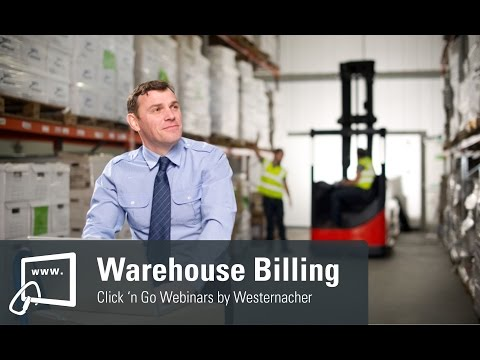 Demonstration of Westernacher's Billing Solution for SAP EWM enabling Logistic Service Providers to rapidly incorporate new services and automatically calculate accurate invoices.