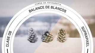 Curso de fotografía | Clase 06 (balance de blancos)